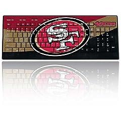 NFL San Francisco 49Ers Team Promark Wireless Keyboard by Team ProMark