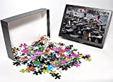 Photo Jigsaw Puzzle of Rows of motorcycl...