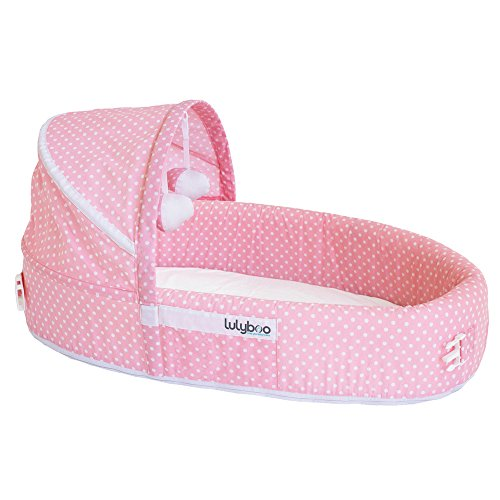 For Sale! LulyBoo Baby Lounge to Go, Pink Dots