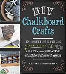 DIY Chalkboard Crafts: From Silhouette Art to Spice Jars