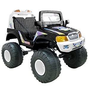 elektro kinderfahrzeuge 4x4 allrad bigfoot offroad jeep kinderauto kinder auto elektroauto mit. Black Bedroom Furniture Sets. Home Design Ideas
