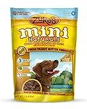 Zukes Mini Naturals Dog Treats Fresh Peanut Butter Recipe, 16-Ounce