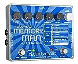 ■Electro Harmonix STEREO MEMORY MAN WITH HAZARAI エレクトロハーモニクス ステレオメモリーマン 並行輸入