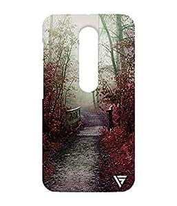Vogueshell Autumn season Printed Symmetry PRO Series Hard Back Case for Motorola Moto G3