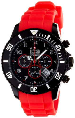 Ice-Watch Armbanduhr ice-Chrono Big Rot CH.BR.B.S.10