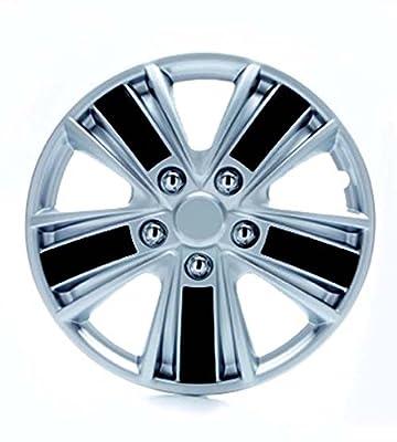 Universal Radzierblende Radkappe Monza Silber 16 16 Zoll Opel Calibra Kadett Manta Tigra Agila Astra-g Astra-h Corsa B C D Signum Vectra B C Zafira A B von RAU