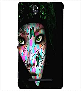 SONY XPERIA C3 BEAUTIFUL GIRL Designer Back Cover Case By PRINTSWAG