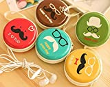 #2: Macho (PACK of 2) Pouch bag purse holder Organiser Storage Box Accessories kit Mini Wallet case Pouch For Earphone Earphones Coins Pills Memory Card Pendrive Jewllery Earings rings Womens Women's Girls Mens Men's gifts girls Organisers Jewllery Box Accessories kit Mini Wallet Purse Organiser bag Case Pouch case For Earphone Earphones case pouch (Random Prints)
