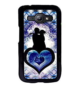 ifasho couple kissing Back Case Cover for Samsung J1