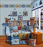 SISI Baby Bedding -Sail Away 15 PCS Crib Bedding