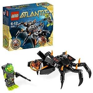 Amazon.com: LEGO Atlantis Monster Crab Clash 8056: Toys & Games