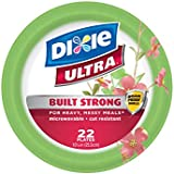 Dixie Ultra Disposable Plates, 10 1/16 Inch, 22 Count (Pack of 4)