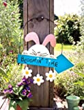Bloomin Time Bunny Sign
