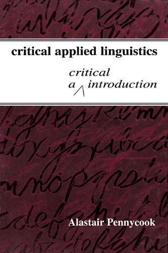 Critical Applied Linguistics: A Critical Introduction front-765920