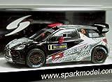 1:43 シトロエン DS3 WRC ♯8 キミ・ライコネン ICE ONE Racing 2011 スウェーデンラリー -スパーク/Spark-