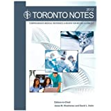Toronto notes (comprehensive medical refrence, clinical handbook and web subscription)