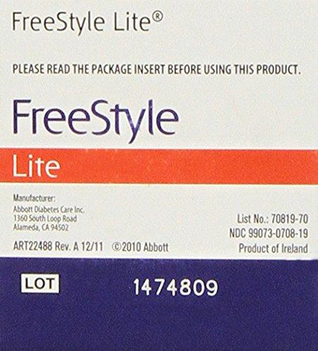 freestyle lite test strips x