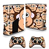 Mightyskins Protective Vinyl Skin Decal Cover For Microsoft Xbox 360 S Slim + 2 Controller Skins Wrap Sticker... - B00CXPHH38