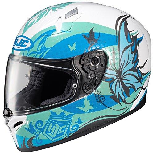 HJC FG-17 Flutura Full-Face Motorcycle Helmet (MC-2, Medium)