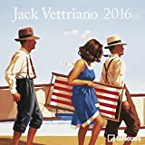 Jack Vettriano 2016- Mini- Broschürenkalender/Kunstkalender- teNeues- 17,5 x 17,5 cm