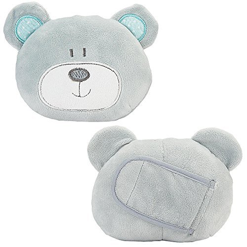 Babies R Us - Gray B is for Bear Neck Cushions 2 Pack - 1