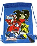 Hasbro Transformers Drawstring Backpack (color Blue)