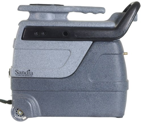 Sandia 50-1000 Spot-Xtract Commercial Extractor with Clear View Plastic Hand Tool, 3 Gallon Capacity (Steam Extractor Automotive compare prices)