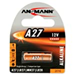 ANSMANN Alkaline Batterie A27 (12V) M...