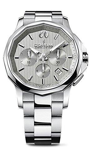 Corum Admiral's Cup Legend 42 Automatic Chronograph Steel Mens Watch Calendar 984.101.20/V705 FH10