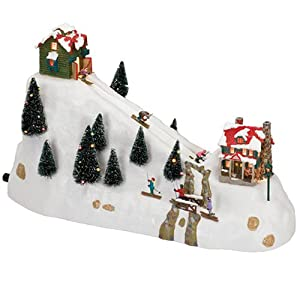 #!Cheap Mr. Christmas Winter Wonderland, Ski Hill