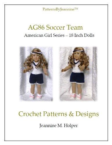American Girl Soccer Team Crochet Pattern (Patterns by Jeannine)