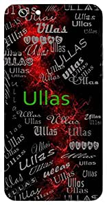 Ullas (Light) Name & Sign Printed All over customize & Personalized!! Protective back cover for your Smart Phone : Moto E-2 ( 2nd Gen )