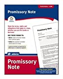 Adams Promissory Note Form, 8.5 x 11 Inch, White (LF293) by TOPS Business Forms, Inc.
