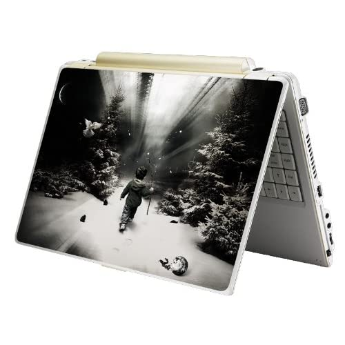 Bundle Monster Laptop Notebook Skin Sticker Cover Art Decal   12 14 15   Fit HP Dell Asus Compaq   Alone
