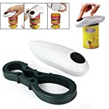 Soogo One Touch Electric Automatic Can Tin Bottle Opener Hand Free