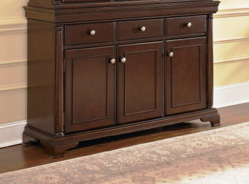 Buy Low Price Buffet by Ashley Sable Stain D551 80  : 510pbuAGieLSL500 from www.kitchenfurniturebargain.com size 500 x 371 jpeg 35kB