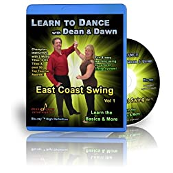 East Coast Swing Vol 1 - Learn the Basics & More (Swing Dance Lessons Blu-ray)