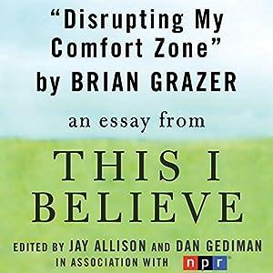 Disrupting My Comfort Zone Audiobook