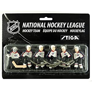 NHL Columbus Blue Jackets Table Top Hockey Game Players Team Pack by Stiga