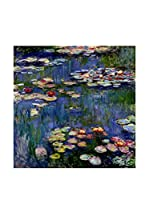 Especial Arte Lienzo Waterlilies Multicolor