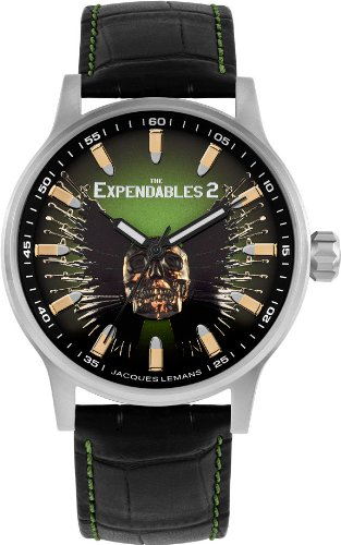 Jacques Lemans Unisex E-227 The Expendables 2 Analog Watch