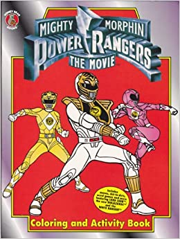 Mighty Morphin Power Rangers The Movie Coloring and Activity Book