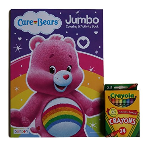 Care Bears ''Cheer Bear'' Jumbo Coloring and Activity Book with Crayola Crayons (Original Care Bears compare prices)