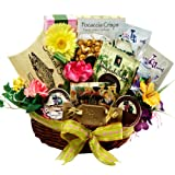 Art of Appreciation Gift Baskets   Warm Sentiments Gourmet Food with Smoked Salmon