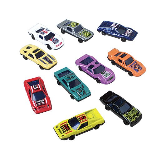 Lot Of 10 Assorted Die Cast Metal Toy Race Cars - 2.5""