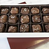 Village Chocolatier - Sea Salt Chocolate Caramel 1Lb Box Mix Dark/Milk Chocolate