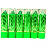Aloe Vera Color Change Mood Lipstick Assorted Lipsticks 6 pc Green