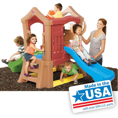 Step2 Play Up Double Slide Climber Playset (Double Slide Climber compare prices)