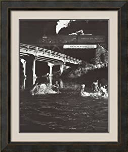 Hawksbill Creek Swimming Hole by O. Winston Link Framed