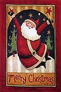 Santa Claus Garden Flag Merry Christmas Holiday 12